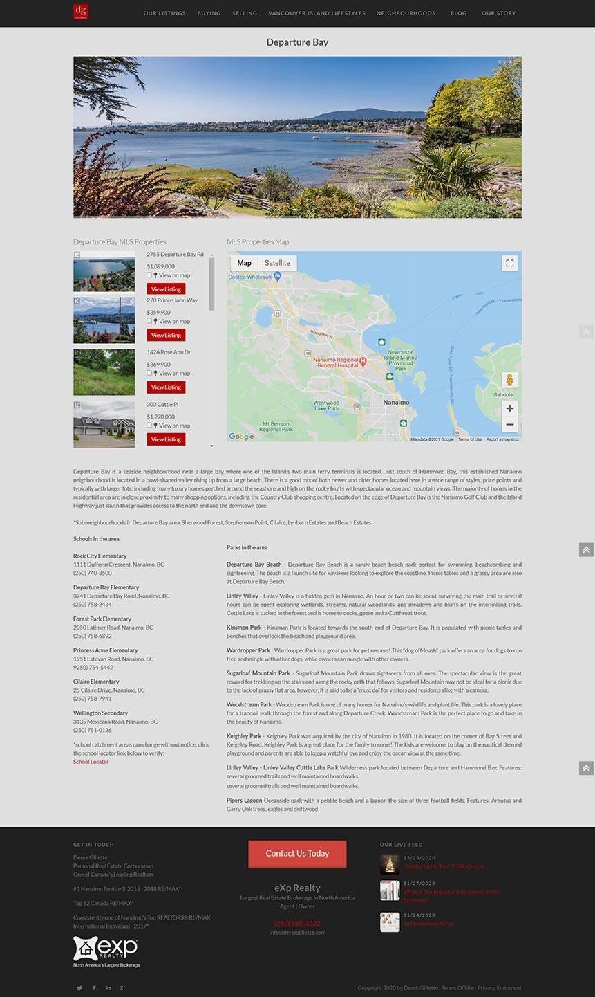 Derek Gillette Website