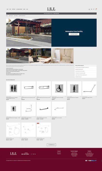 JRE - eCommerce web development